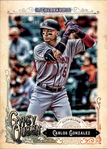 Photo of 2017 Topps Gypsy Queen #204 Carlos Gonzalez