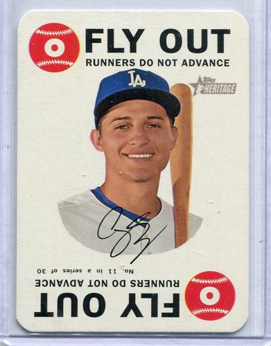 Photo of 2017 Topps Heritage Topps Game #11 Corey Seager