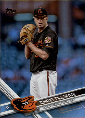 Photo of 2017 Topps Rainbow Foil #577 Chris Tillman
