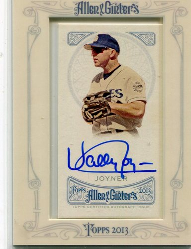 Photo of 2013 Topps Allen and Ginter Autographs #WJ Wally Joyner
