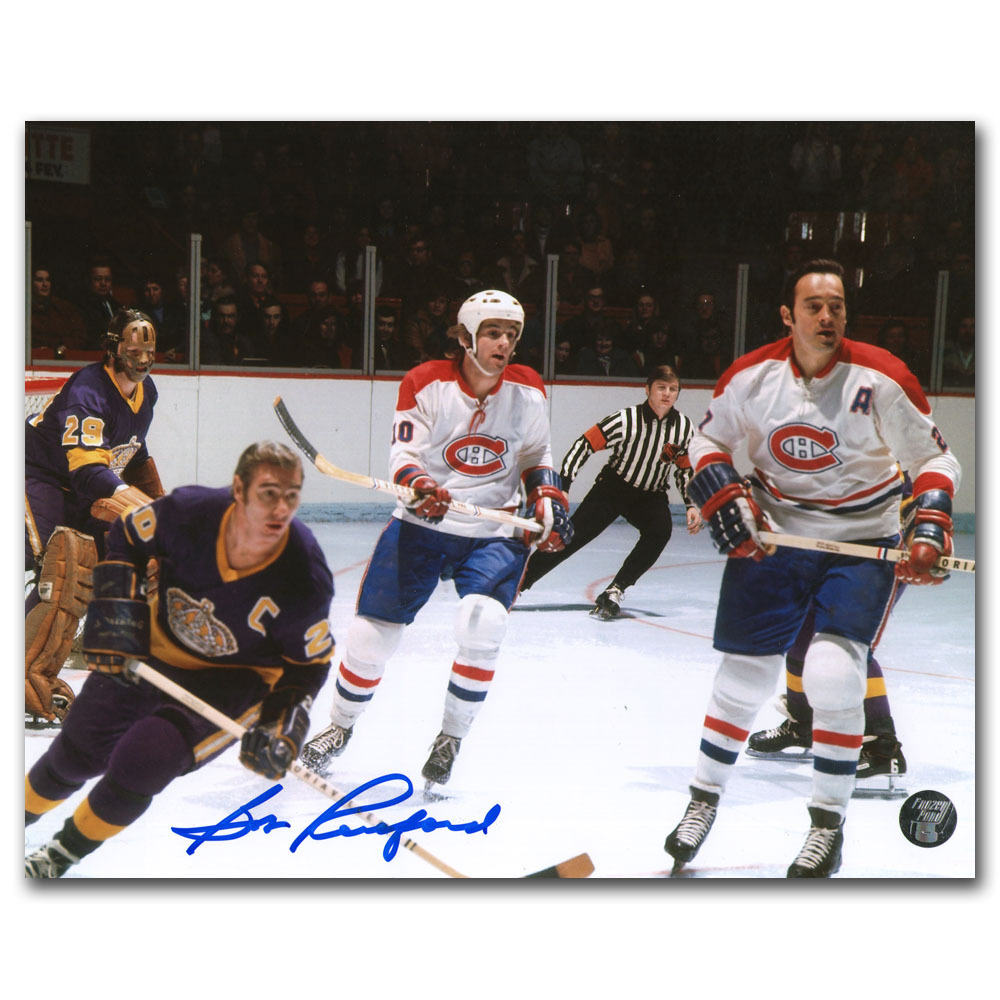 Bob Pulford Autographed Los Angeles Kings 8X10 Photo
