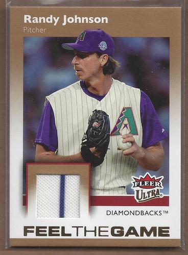 Photo of 2007 Ultra Feel the Game Materials #RJ Randy Johnson