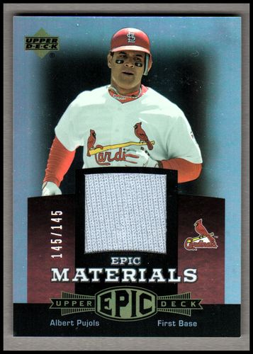 Photo of 2006 Upper Deck Epic Materials Red #AP1 Albert Pujols Jsy/145