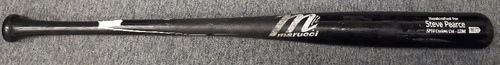 Photo of Authenticated Team Issued Bat - #28 Steve Pearce