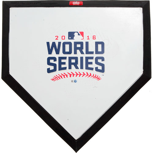 Photo of 2016 World Series: Commemorative Home Plate - Ceremonial First Pitch by Kenny Lofton