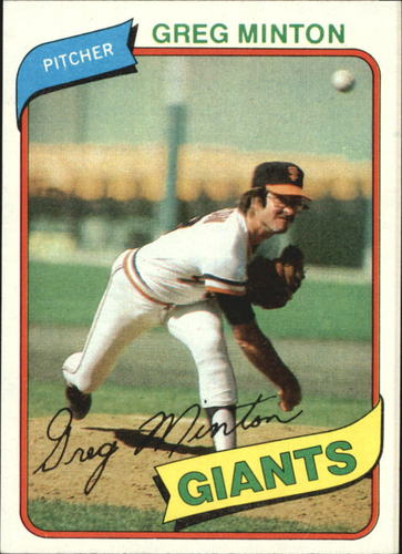 Photo of 1980 Topps #588 Greg Minton