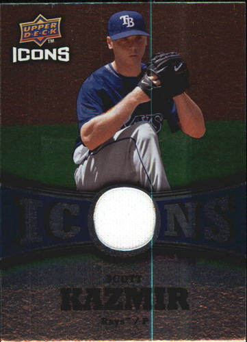 Photo of 2009 Upper Deck Icons Icons Jerseys #SK Scott Kazmir