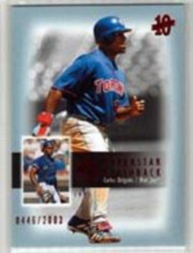 Photo of 2003 SP Authentic Superstar Flashback #SF59 Carlos Delgado