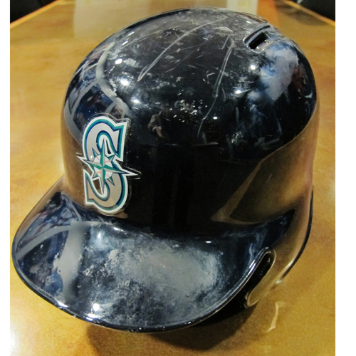 Photo of Mike Zunino Team-Issued Home Batting Helmet 2016