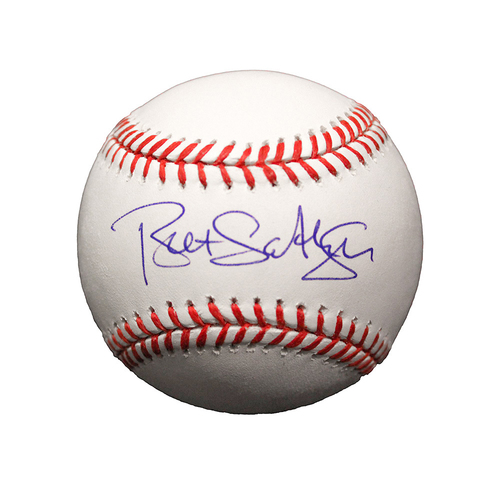 Photo of Brett Saberhagen Autographed Baseball