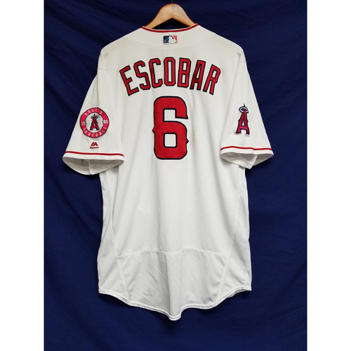 Photo of Yunel Escobar 2016 Team-Issued Home Jersey