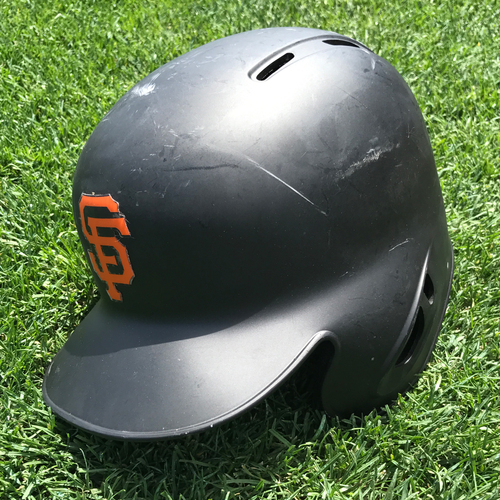 Photo of San Francisco Giants - Team Issued Postseason Helmet - Derek Law
