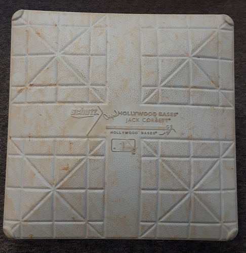 Photo of Authenticated Game Used Base - 2nd Base for Innings 6 to 9: Blue Jays vs Cardinals (June 7, 2014)