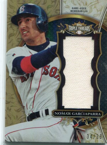 Photo of 2013 Topps Triple Threads Relics #NG1 Nomar Garciaparra 34/36