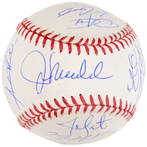 Photo of Chicago Cubs 2016 World Series Champions Team Signed Baseball with 20 Signatures - #12 in a Limited Edition of 12