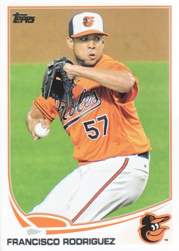 Photo of 2013 Topps Update #US78 Francisco Rodriguez