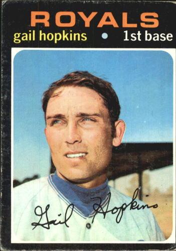 Photo of 1971 Topps #269 Gail Hopkins