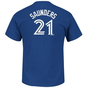 Michael Saunders Player T-Shirt by Majestic
