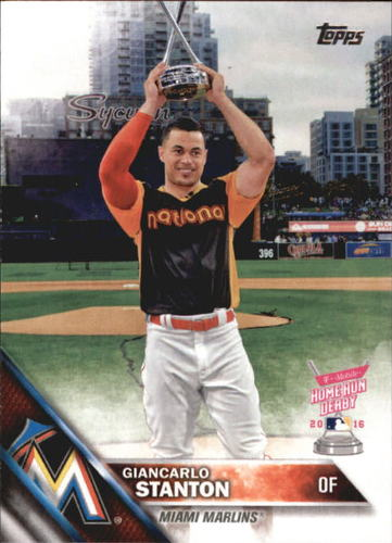 Photo of 2016 Topps Update #US144 Giancarlo Stanton HRD