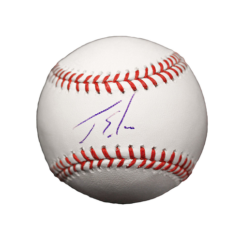 Photo of Jorge Soler Autographed Baseball
