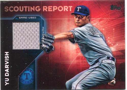 Photo of 2016 Topps Scouting Report Relics Yu Darvish