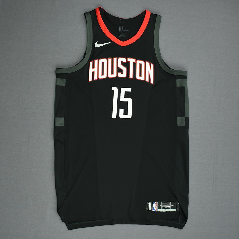 Clint Capela - Houston Rockets - Game-Worn 'Statement' Jersey - 2017-18 Season