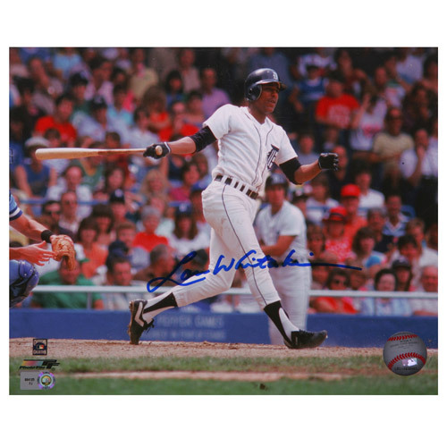 Detroit Tigers Lou Whitaker Autographed 8x10 Photo
