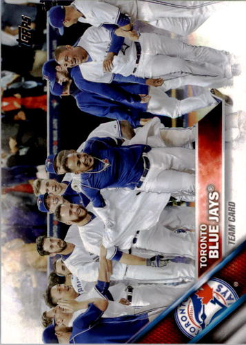 Photo of 2016 Topps #332 Toronto Blue Jays