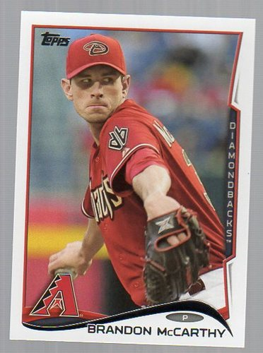 Photo of 2014 Topps #291 Brandon McCarthy