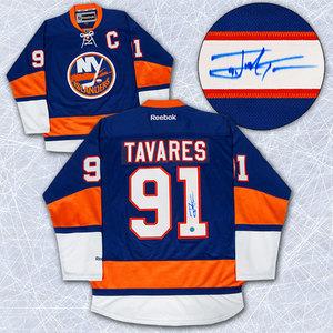 John Tavares New York Islanders Autographed Reebok Premier Hockey Jersey