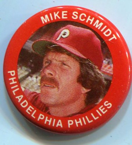 Photo of 1984 Fun Foods Pins #11 Mike Schmidt