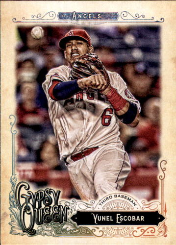 Photo of 2017 Topps Gypsy Queen #266 Yunel Escobar