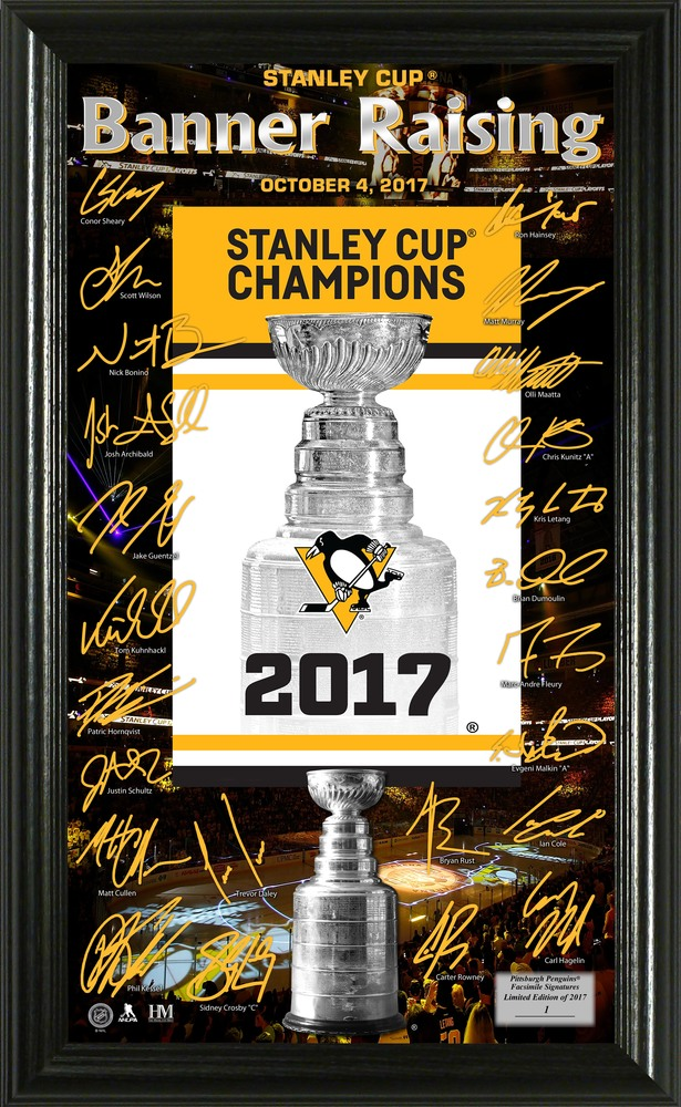 Serial #1! Pittsburgh Penguins 2017 Stanley Cup Champions