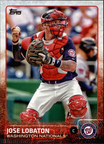 Photo of 2015 Topps #476 Jose Lobaton