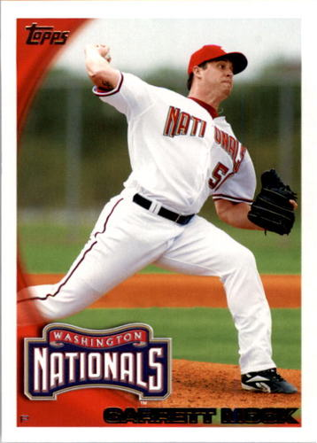 Photo of 2010 Topps #128 Garrett Mock