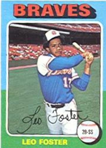 Photo of 1975 Topps #418 Leo Foster