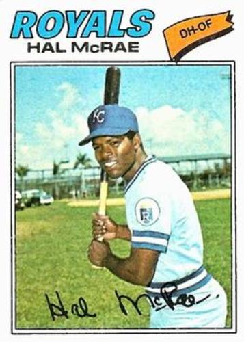 Photo of 1977 Topps #340 Hal McRae