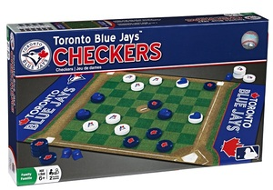 Checkers Board Game by Master Pieces