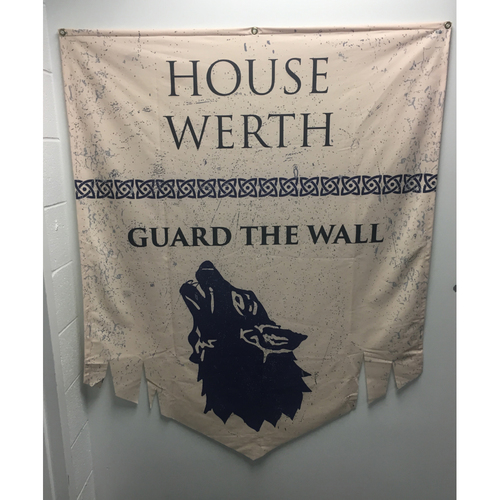 Photo of House of Werth - Game of Thrones Night Banner