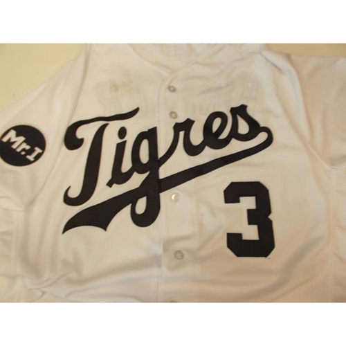 Photo of Game-Used Fiesta Tigres Jersey: Ian Kinsler