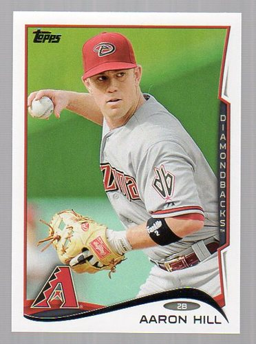 Photo of 2014 Topps #292 Aaron Hill