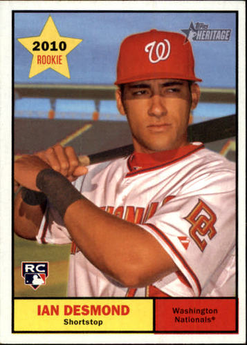 Photo of 2010 Topps Heritage #129 Ian Desmond (RC)