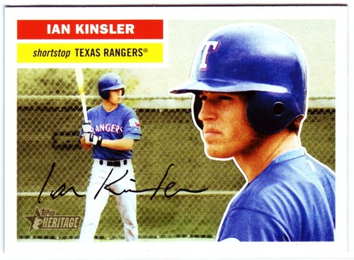 Photo of 2005 Topps Heritage #341 Ian Kinsler RC