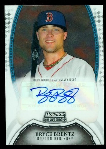 Photo of 2011 Bowman Sterling Prospect Autographs #BB Bryce Brentz