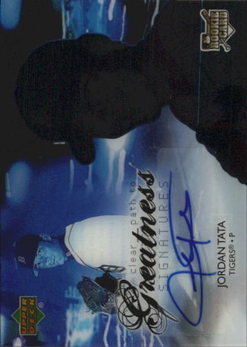 Photo of 2006 Upper Deck Future Stars #92 Jordan Tata AU RC
