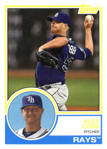 Photo of 2015 Topps Archives #278 Alex Cobb