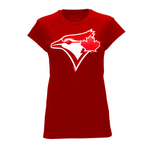 Womans Secondary Canada Day Tee by Bulletin