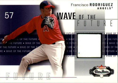 Photo of 2003 Fleer Box Score Wave of the Future Game Used #FR Fran Rodriguez Jsy SP/125