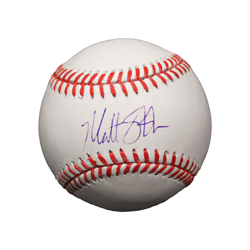 Photo of Matt Strahm Autographed Baseball