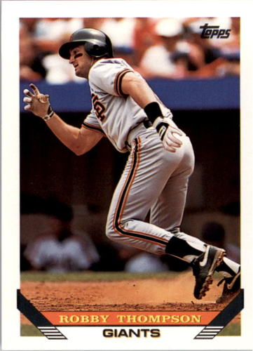 Photo of 1993 Topps #115 Robby Thompson